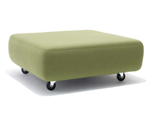 Cini Boeri Lounge Collection green Ottoman