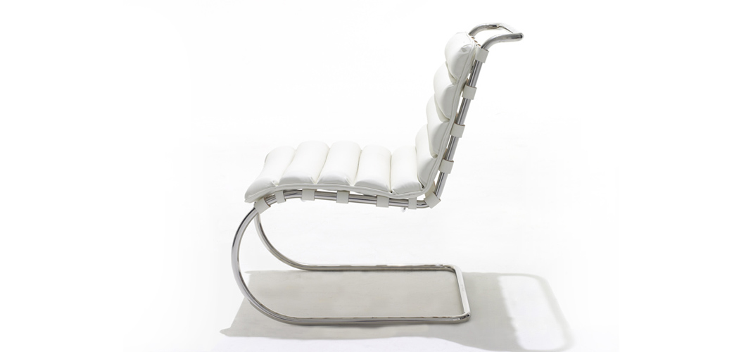 Knoll Mlies MR Lounge Chair by Ludwig Mlies van der Rohe