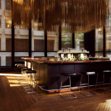 Four Seasons barstool by Mies van der Rohe installation