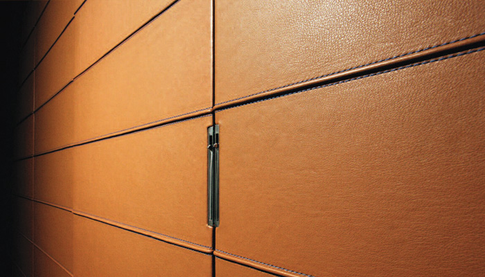 Leather Wall Paneling : Wall panel leather