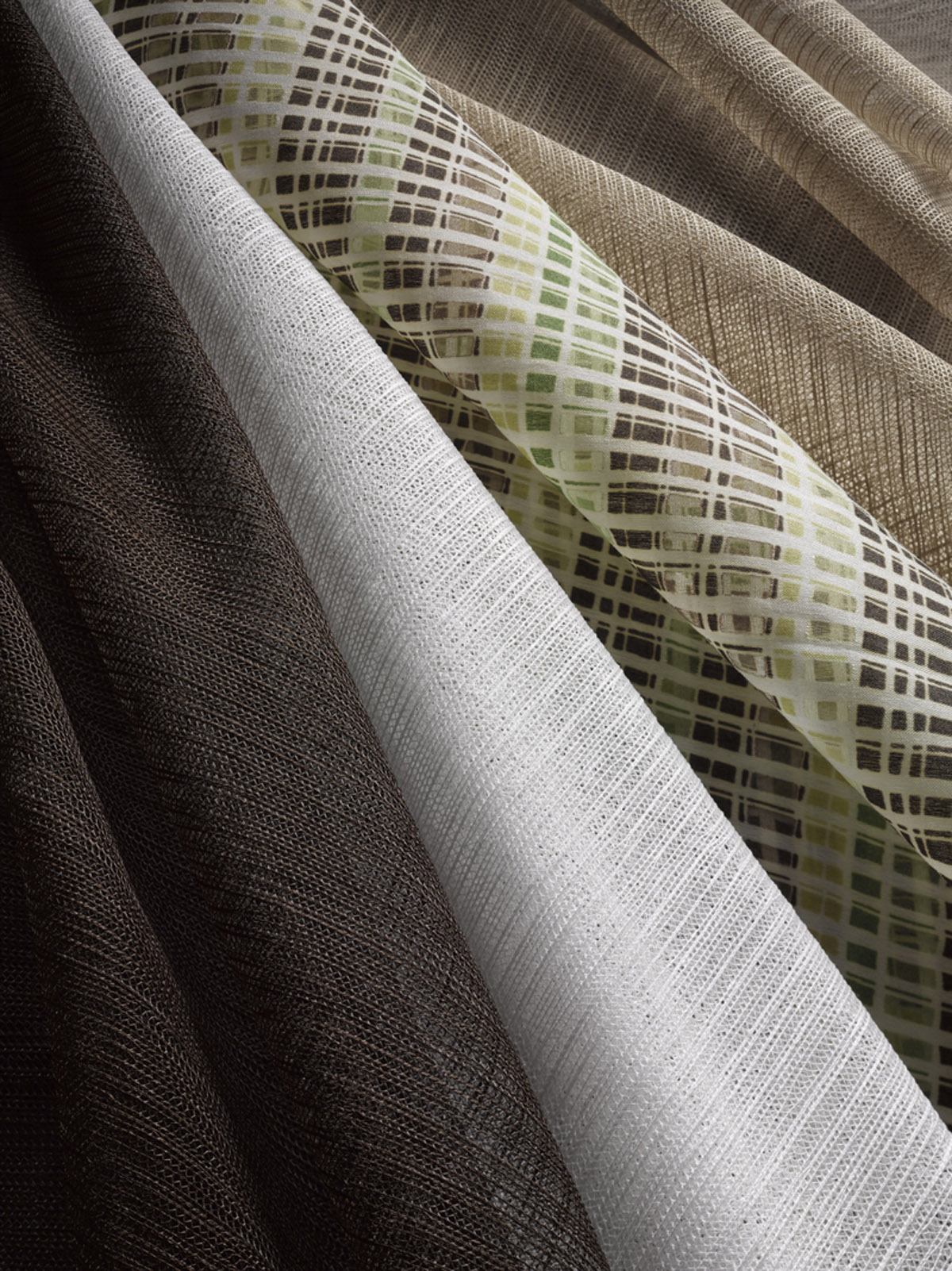 gramet drapes window louver img silk drape shades box roller cornice roman vertical blinds