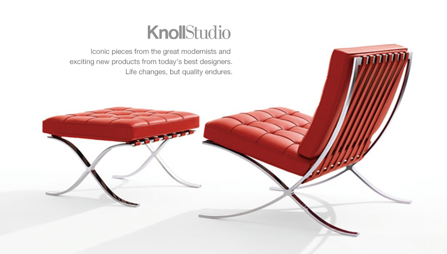 Knollstudio Furniture Design And Planning Knoll