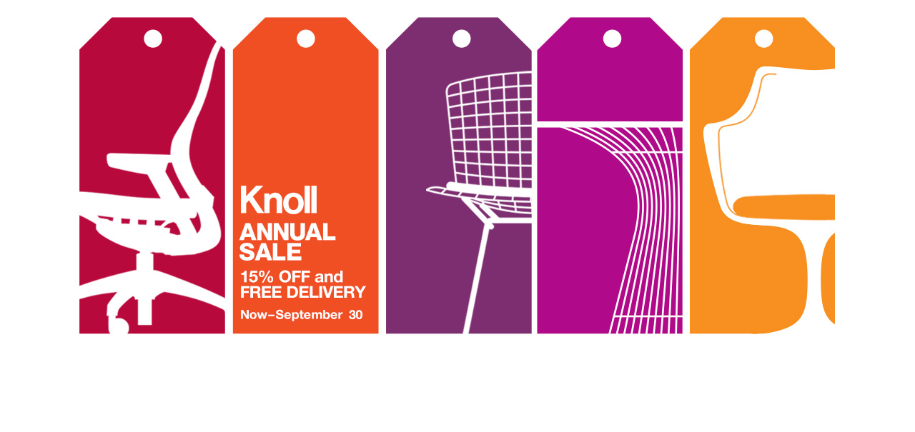 Knoll Annual Sale September 19-30