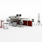 sit to stand adjustable height ergonomic collaboration collaborative flexible spine based panel