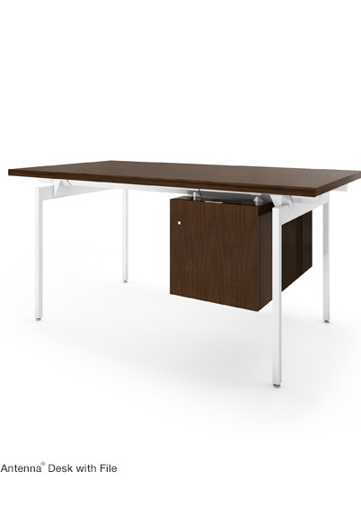 Antenna Desk With File