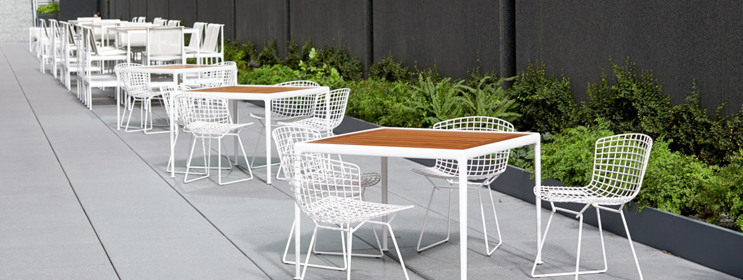 Discover Knoll Outdoor Tables including the 1966 Collection