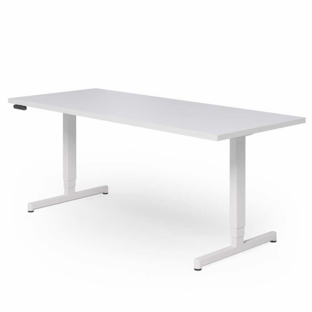 "Pixel<sup>™</sup> Height‑Adjustable  Desk - 72"" x 36"" T‑Leg"
