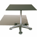 Pensi Table with Metallic laminate finish
