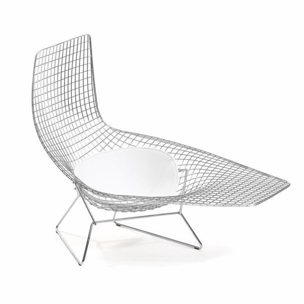 knollstudio bertoia asymmetric chaise - Chaise Bertoia