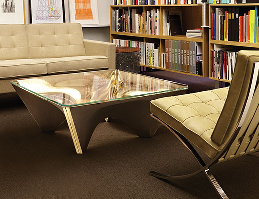 Washington Collection for Knoll by David Adjaye Washington Corona Table