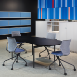 Antenna Workspaces meeting table and MultiGeneration by Knoll