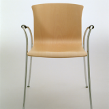 Knoll Cirene wood Stacking Chair