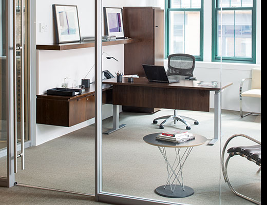Knoll Tone Standing Height Table