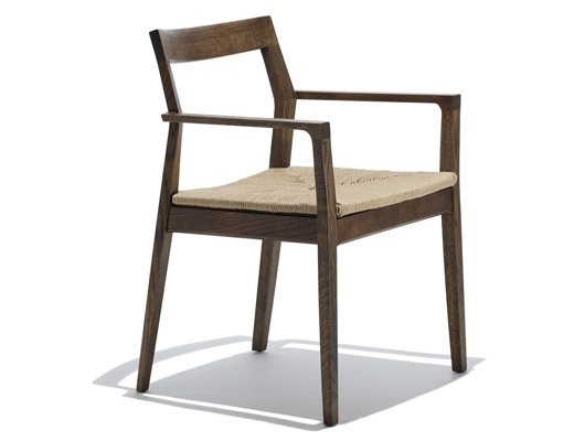 Delicieux ... Knoll American Walnut Krusin Side Chair ...