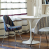 Diamond Days Upholstery and Millicient Drapery by SUNO for Knoll Luxe