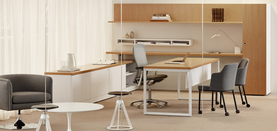 Reff Profiles Private Office and Open Plan Office System Knoll