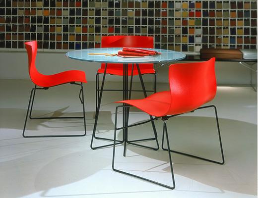 Elegant Vignelli Handkerchief Chairs · Handkerchief Table U0026 Chairs · Lesniewicz  Associates · Knoll ...
