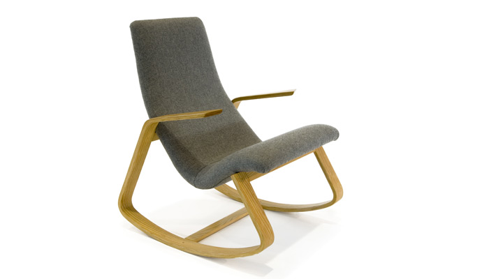 Ralph Rapson Rocker (designed 1944, manufactured 1944-48)