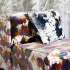 KnollTextiles Arezzo Upholstery and Big Fringe Drapery