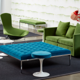 neocon 2018 hospitality at work florence knoll bench saarinen tulip stool bertoia bird chair pfister sofa knollstudio