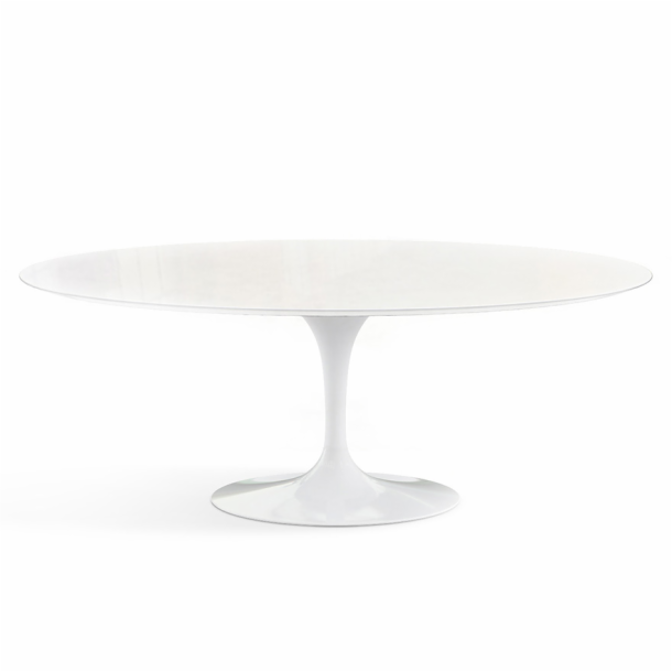 "Saarinen Outdoor Dining Table - 78"" Oval"