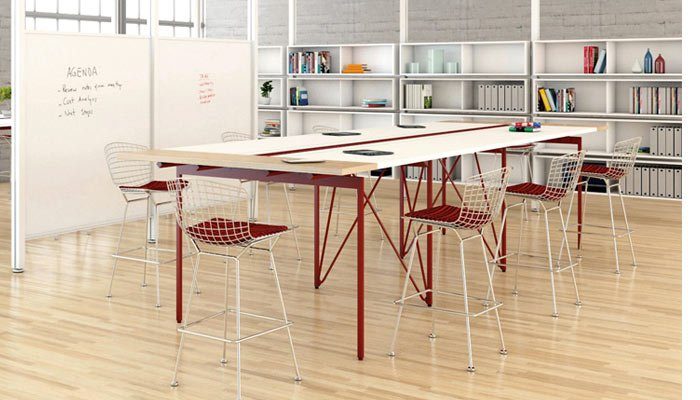 Antenna Tables And Desks Knoll - Standing height meeting table