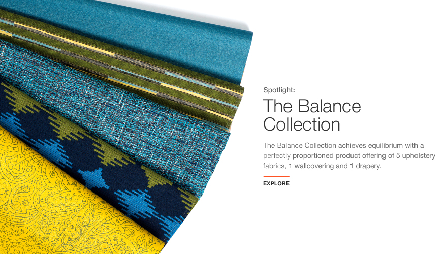 Balance Collection for KnollTextiles