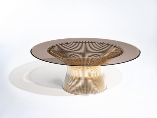Warren Platner Gold Coffee Table 50th Anniversary