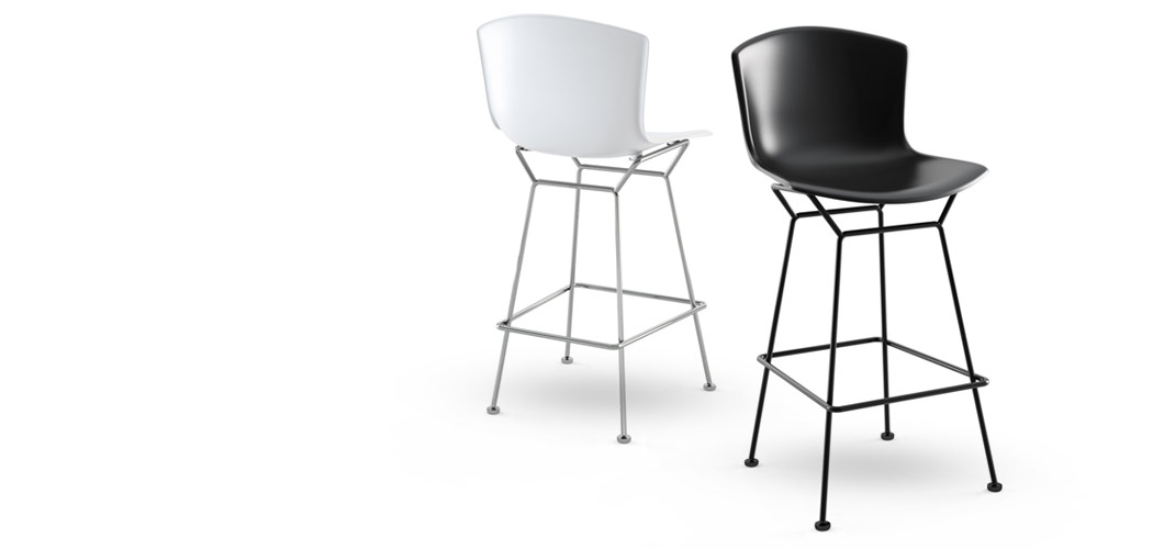 Bertoia Molded Shell Barstool By Knoll Plastic Bar And Counter Height Stool