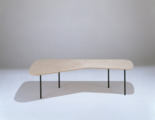 Alexander Girard wooden Coffee Table