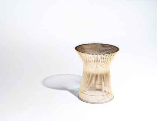 Warren Platner Side Table Gold ...