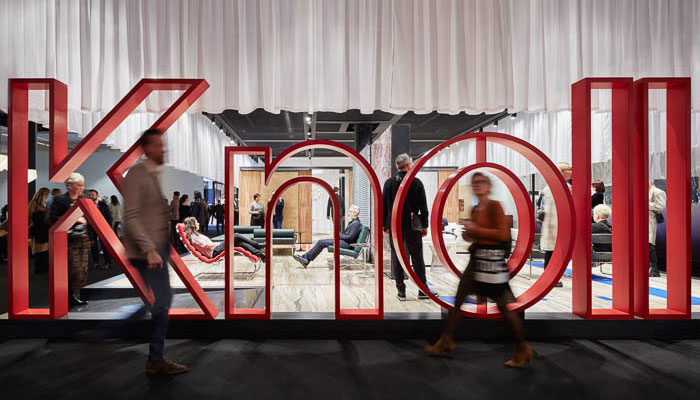 Knoll Pavillion at Cologne Furniture Fair 2020