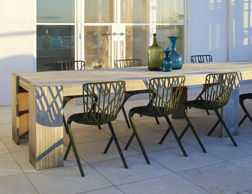 Knoll Washington Skeleton Chair for outdoor
