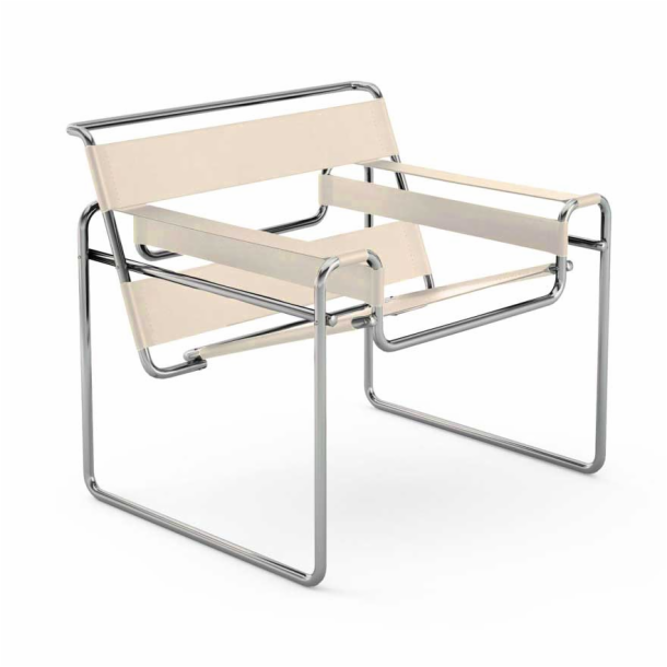 Wassily<sup>™</sup> Chair - Canvas Seat