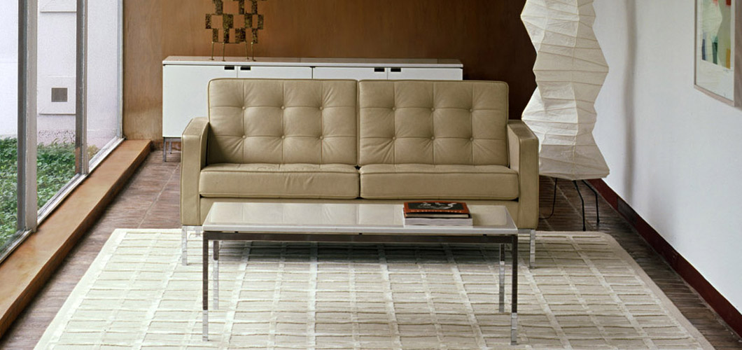 Florence Knoll Relaxed Sofa Knoll - Knoll sofa