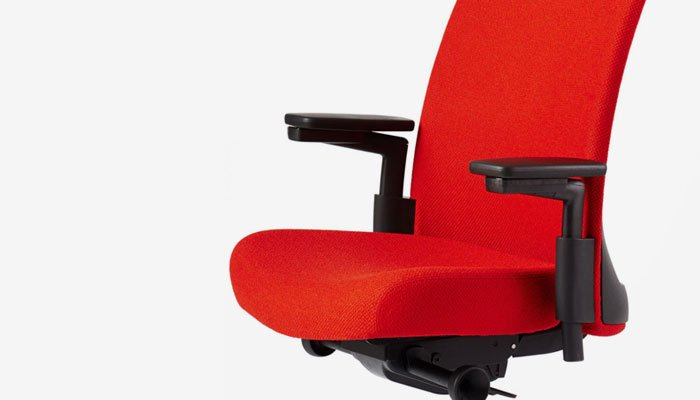 In Addition, The Arm Supports Are Connected To The Back Rather Than The Seat  To Provide Clearance For Your Legs As You Change Positions Throughout The  Day.