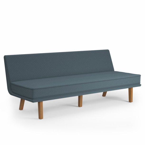"Rockwell Unscripted<sup>®</sup> Modular Lounge - 72"" Armless Sette"