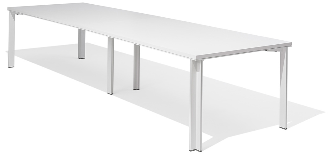 LSM Conference Table with L Leg by Knoll