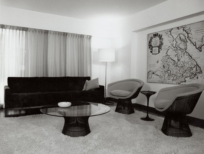 Knoll Warren Platner Lounge Chair Archival Image