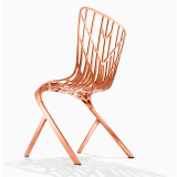 Washington Skeleton Chair with copper finish