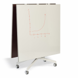 Krusin Pixel Y-Fold Training Table Markerboard Top