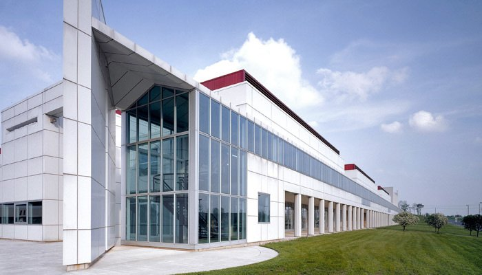 The Knoll LEED® Gold and ISO 14001 Certified Lubin Building in East Greenville, PA