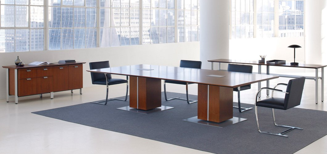 Propeller Conference Table Knoll - Desk with meeting table