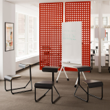 Knoll Interpole Open Enclave define Space
