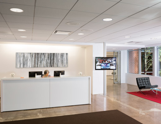 Reff Profiles Reception Desk from Knoll