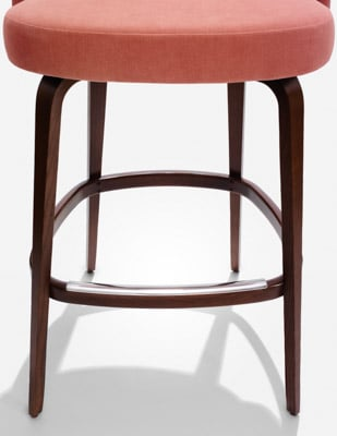 saarinen executive barstool detail knollstudio