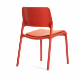 Spark Series Side Chair Seating with seat pad