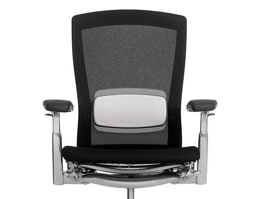 Knoll black Life chair with Lumbar Support.