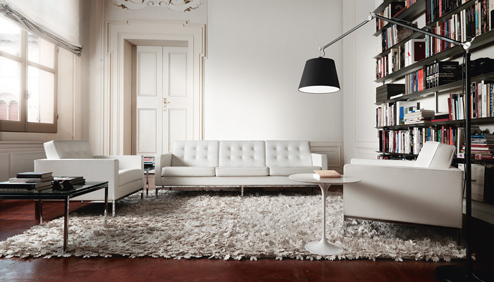 Florence Knoll Lounge Collection, Florence Knoll Side Tables, Saarinen Side Table