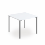 Knoll Simple Tables with Black Legs